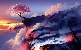 Life Goes On - fantasy hot lava, new life CC0