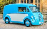 Morris JE Type Van
