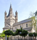 Great St. Martin Ch, Cologne, GR