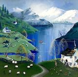Frosty Valley - Anne Blundell