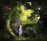 Fantasy fairy magic tale