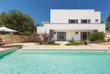 Luxury white villa and pool, Ostuni, italy
