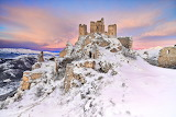 Rocca Calascio, Italy, Abruzzo, Gran Sasso, Rinaldi Mauro
