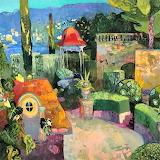 Italian garden, Savignac