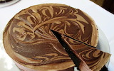 ^ Chocolate Cheesecake