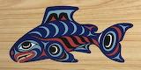 Inuit Art Legend of the Salmon