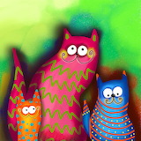 ^ Three cats
