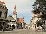 München Viktualienmarkt met das Alte Rathaus