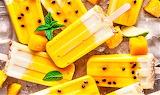 #Mango Passion Fruit & Coconut Macadamia Nut Popsicle's