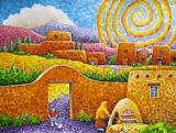 ^ New Mexico Sunrise ~ Robert Yackel