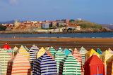Gijón, Cabines de plage