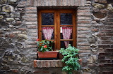 Window in Tuscany, Italy