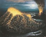 Eruption  yerka light