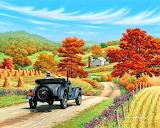 John Sloane-painting-autumn
