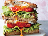 ^ Egg-in-a-Nest BLT Sandwiches ~ Greg DuPree