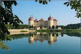 Moritsburg Castle, Saxony, Germany