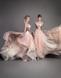 Pink & Black Evening Gowns