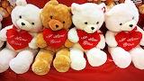 Valentine's Day Teddy bear Heart Sitting English 541343 1280x720