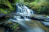 Purakaunui Waterfall, Catlins by Marta Kulesza
