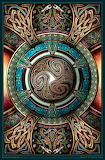Triskelion Mandala I ~ Bradley W. Schenck