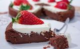 Cake strawberies