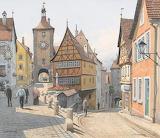 Rothenburg upon Tauber river Richard Pokorny