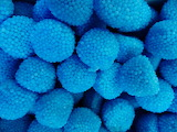 Blue berry candy drops