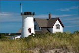 Stage Harbor Lighthouse Cape Cod MA