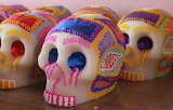 Sugar skulls, day of the deads