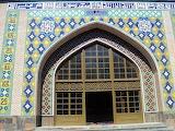 Doorway Blue Mosque, Yerevan. Armenia