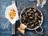 Moule marinière et frites