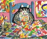 ^ B. Kliban cat artist