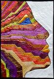 Nefertiti-art-quilt