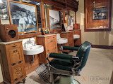 Historic Barbership at the Downtown History Museum