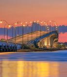 Jensen beach causeway Florida sunset