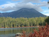 Mile 2170 Daicy Pond View Of Katahdin