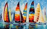 Sail regatta, credit: Leonidafremov(dA)