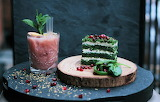 ^ Festive beverage and dessert