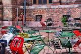 Beer-garden in Budapest