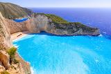 Navagio Bay on Zakynthos Island,Greece