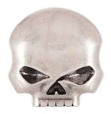 Harley-Davidson Men's Skull Rider Belt Buckle
