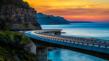 Sea Cliff Bridge, New South Wales