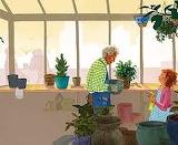 helping granny