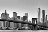 Brooklyn Bridge New York Black&White