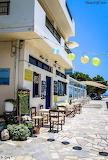 Myrtos beach taverna