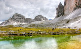 Paternkofel Dolomites Mountains Italy South Tyrol