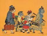 """Children's Tales"" tumblr dogstardreams ""Les Minets en vacances,"