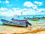 Boats, Mexico