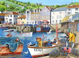 Busy Harbour - Keith Stapleton