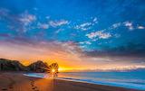 Durdle door sunriset Dorest England